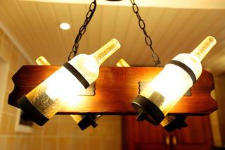 自然北欧风三居装修吧台装饰灯图片