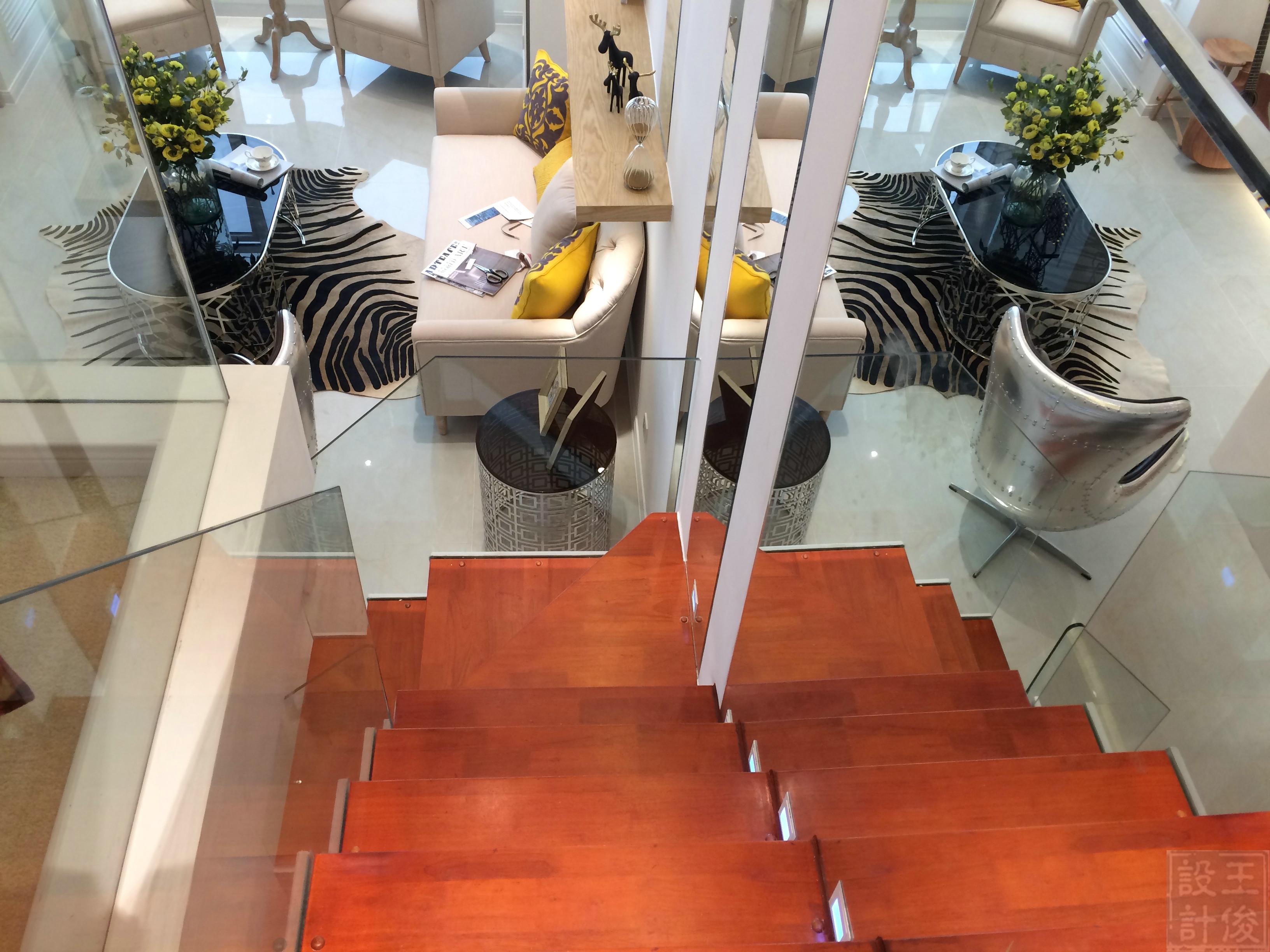 60平Loft风格楼梯设计图