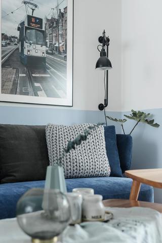 98㎡北欧风格家沙发一角