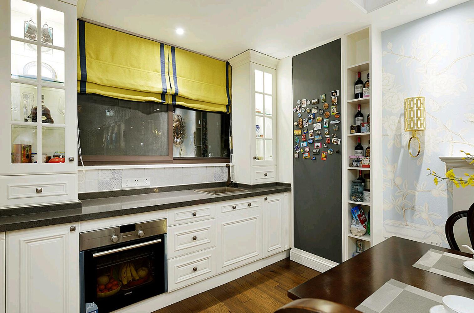 美式三居装修橱柜图片