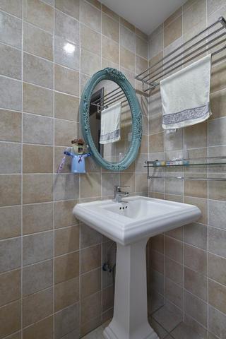 二居室美式之家洗手台图片