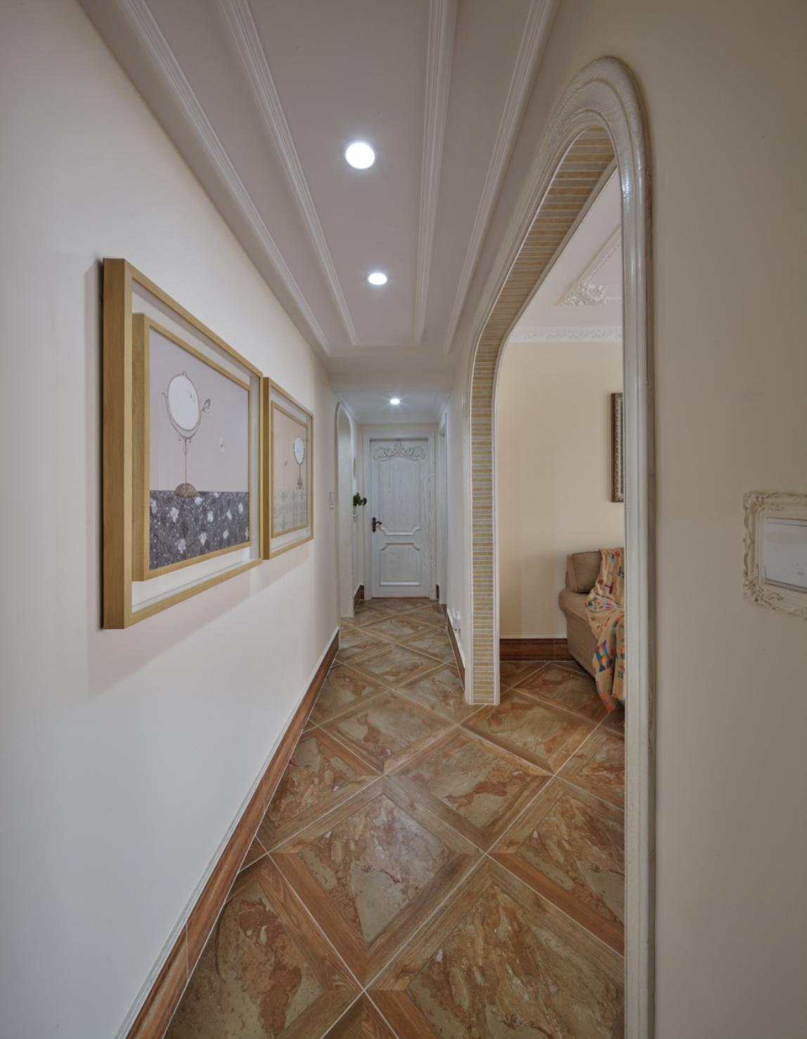 欧式四居室装修走廊图片