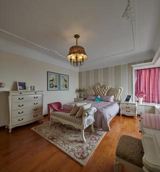 欧式四居室装修卧室背景墙图片