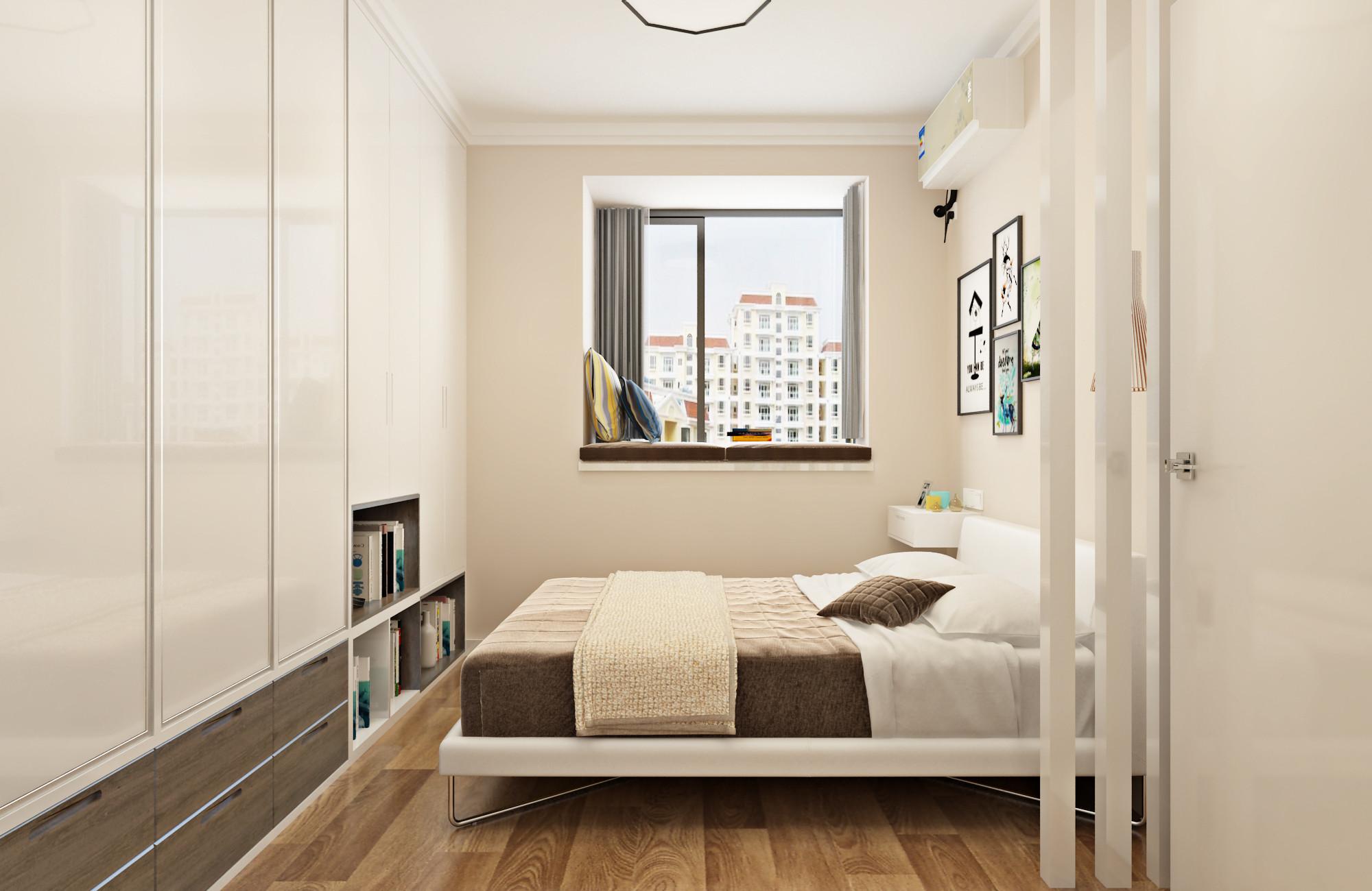 北欧二居装修壁柜设计