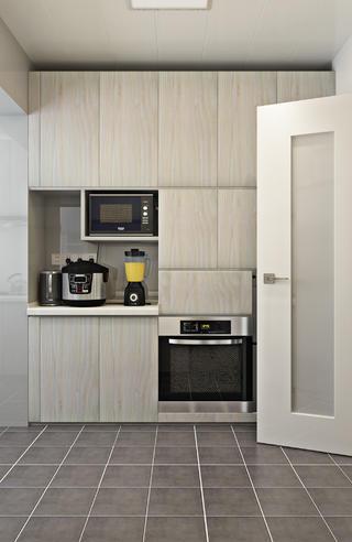 北欧二居装修橱柜图片