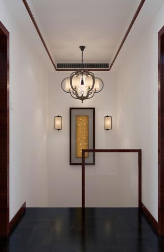 中式复式装修楼梯吊顶设计