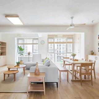 现代日式三居设计 宽敞自然
