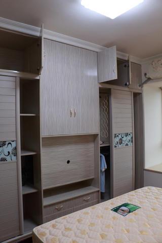 110平美式风格装修衣柜图片