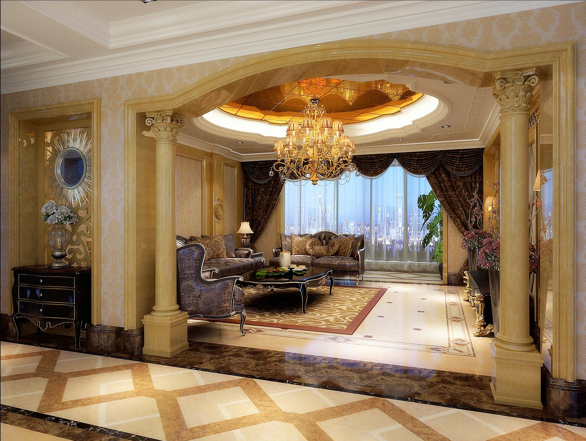 大户型新古典豪华装修沙发图片