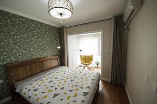 北欧三居室装修卧室布置图