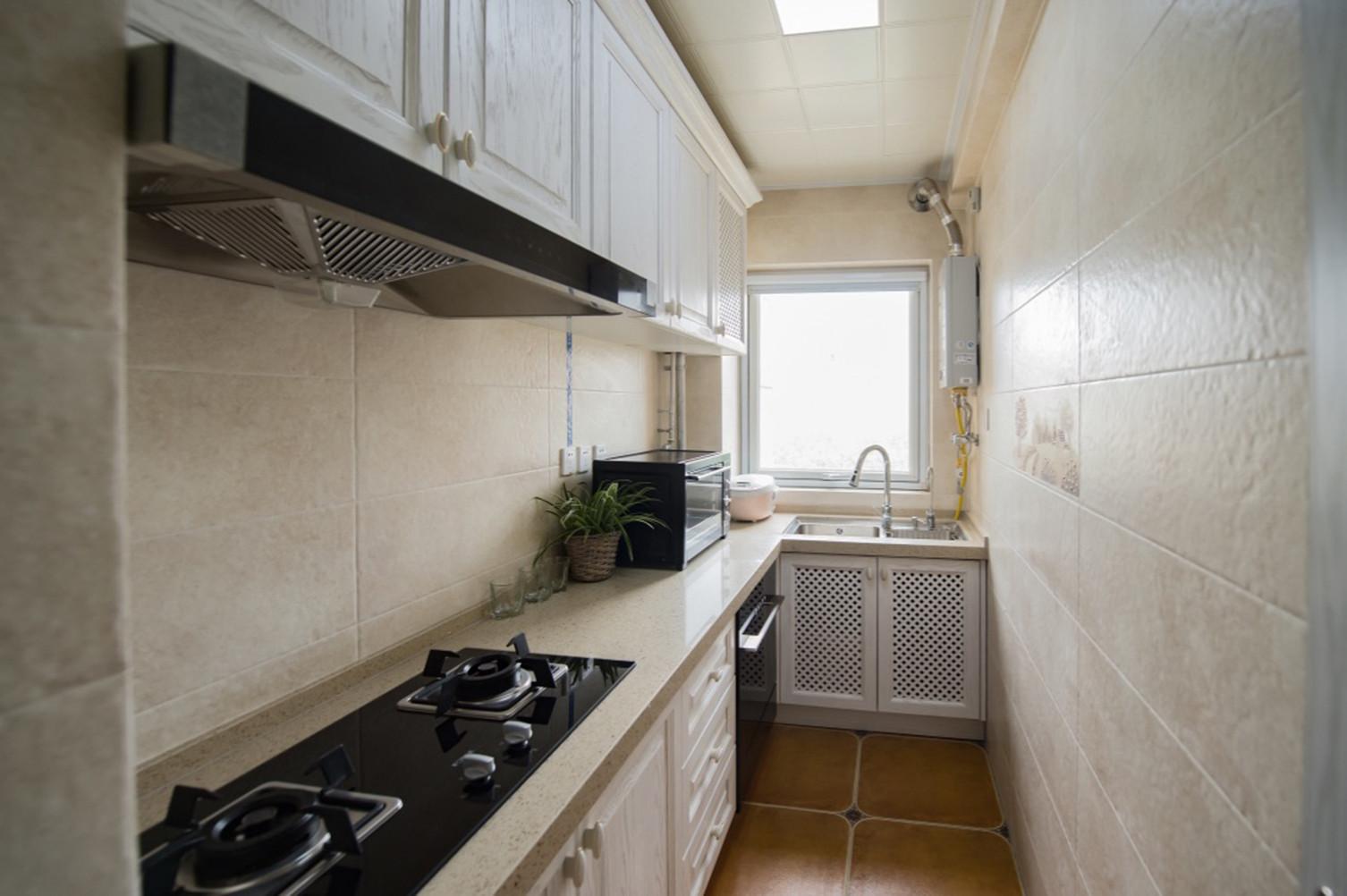北欧三居室装修厨房设计图