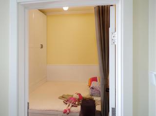 47㎡美式温馨小家装修儿童房欣赏图