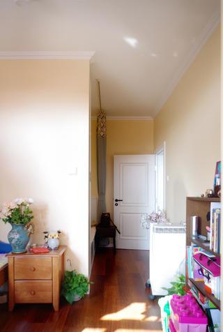 47㎡美式温馨小家装修卧室背景墙图片