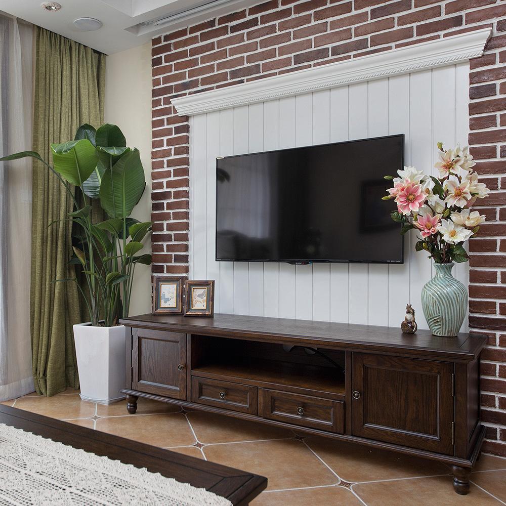 三居室美式风格家 自然复古