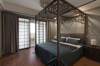 150平中式风格家卧室设计图