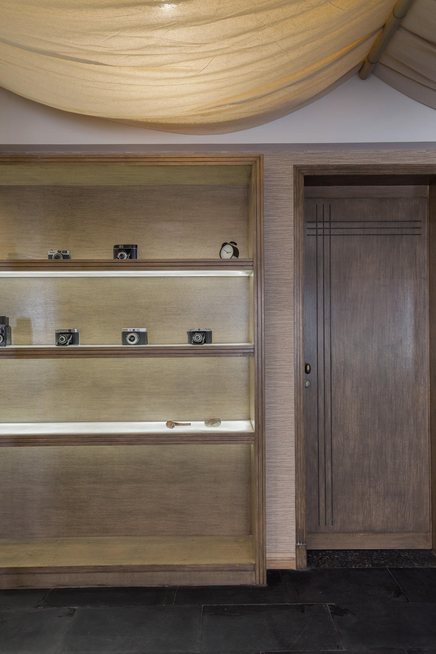 150平中式风格家装饰柜图片