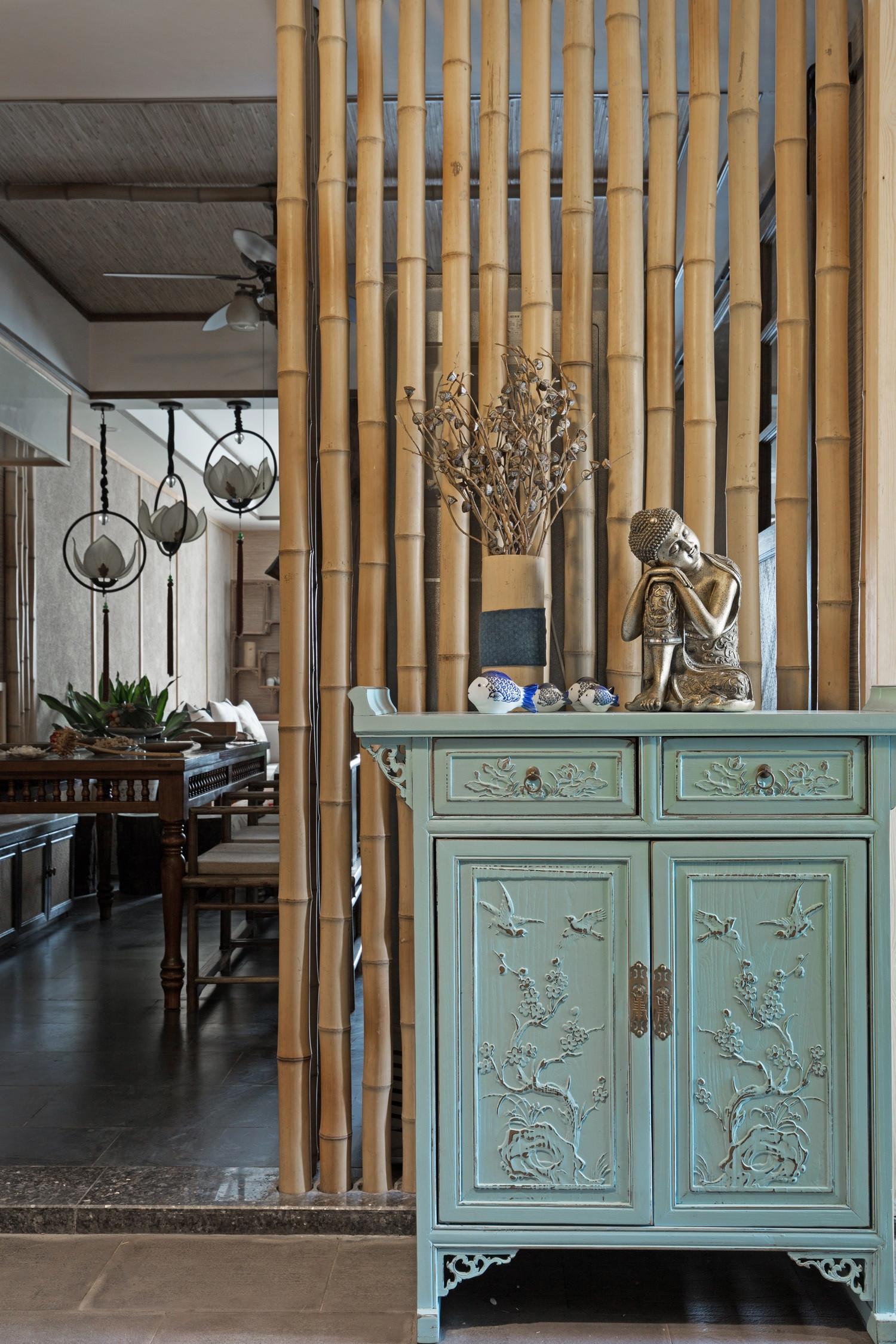150平中式风格家玄关设计