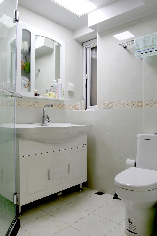 60平小户型装修卫生间设计图
