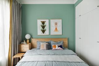 90平北欧之家卧室设计图