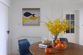 北欧三居装修装饰画图片