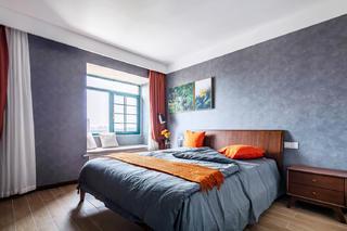 110㎡北欧风装修卧室效果图