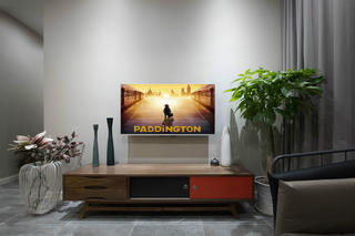 98㎡简约装修电视背景墙图片