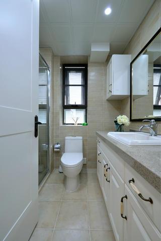 130㎡简美之家卫生间设计图