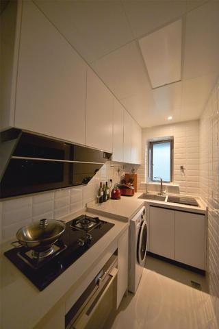 70平一居室小家厨房设计图