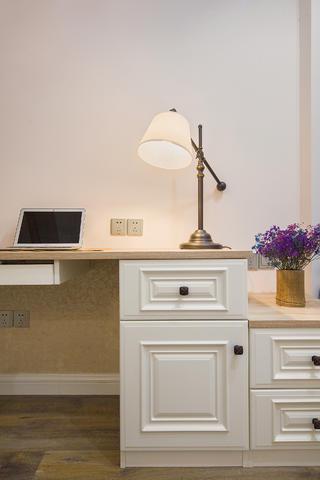 美式二居装修书桌图片