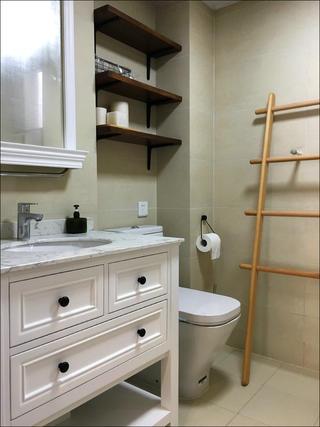 110㎡三居室装修洗手台图片