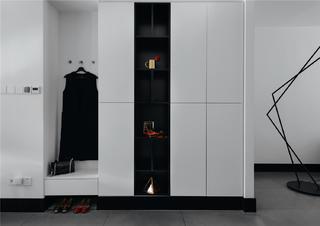 145㎡现代简约家衣柜图片