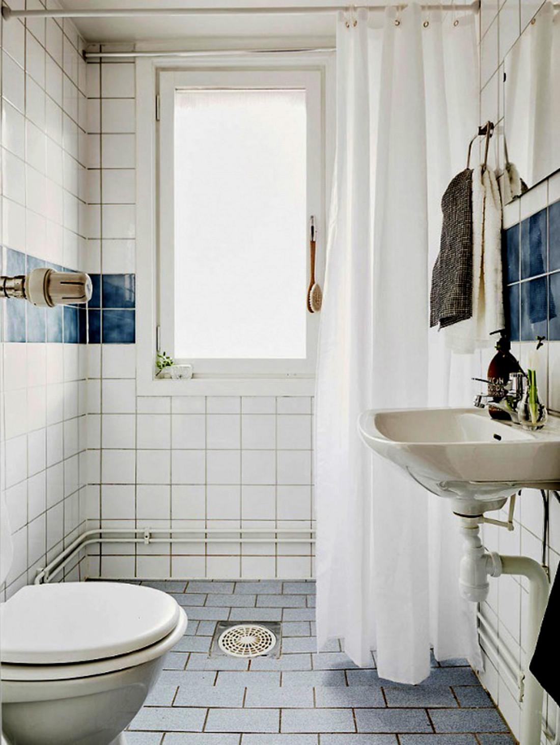 三居室北欧之家卫生间效果图