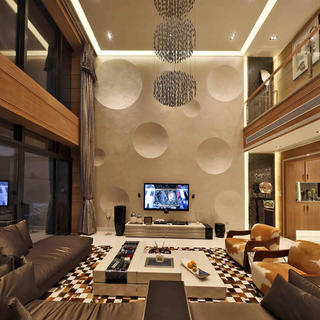 现代别墅亚博唯一授权官网设计 品悦方圆