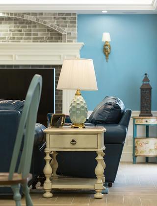 三居室美式之家沙发一隅