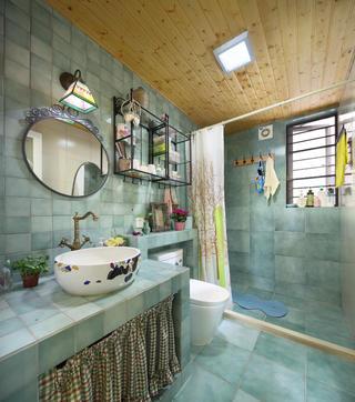 110㎡二居室装修卫生间效果图