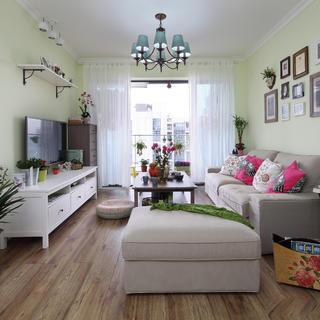 110㎡二居室装修 绿色生机
