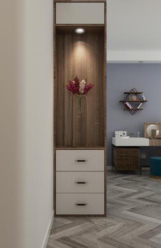 120平现代简约装修衣柜设计图