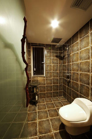 157平东南亚风格装修淋浴房图片