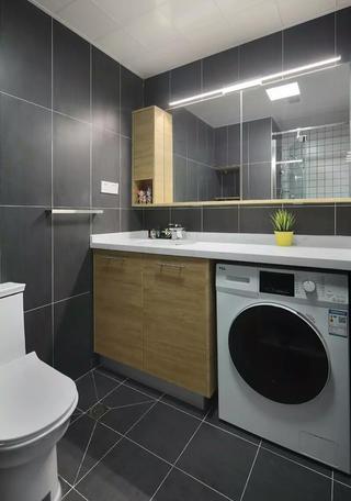 一居室小户型装修卫生间效果图