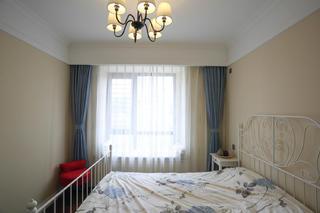 135平三居室装修次卧布置图