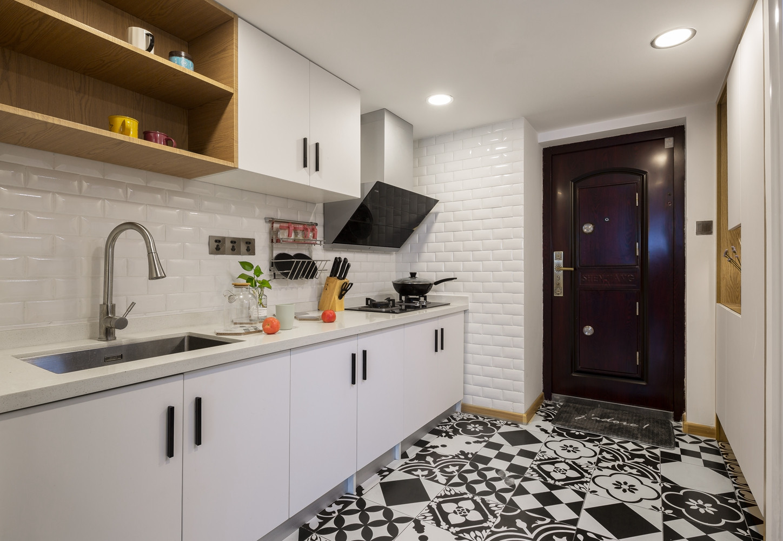 北欧复式装修厨房效果图