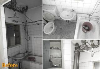 110㎡老房改造设计卫生间改造前