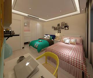 新中式别墅装修儿童房布置图