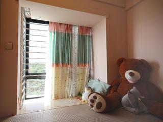 混搭三居室装修飘窗图片