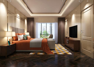 古典别墅装修卧室设计图