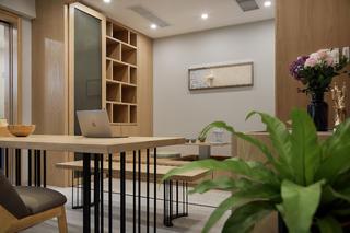 160平混搭三居装修书房效果图