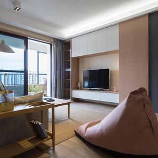 北欧三居室装修效果图 小温暖