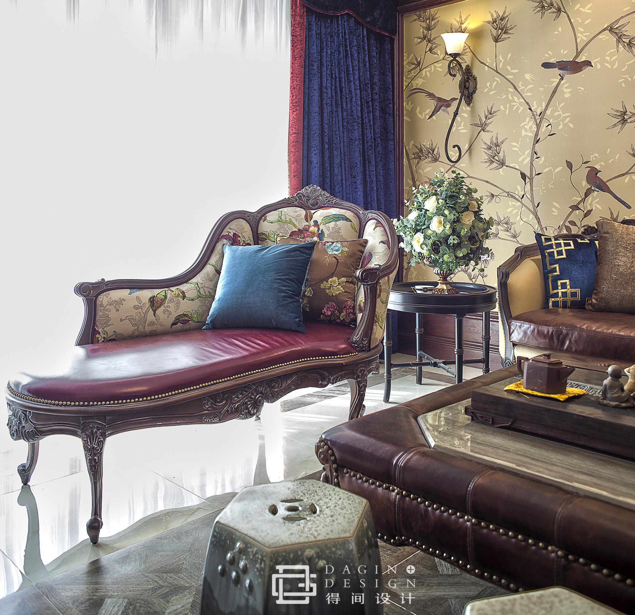 150㎡美式装修躺椅图片