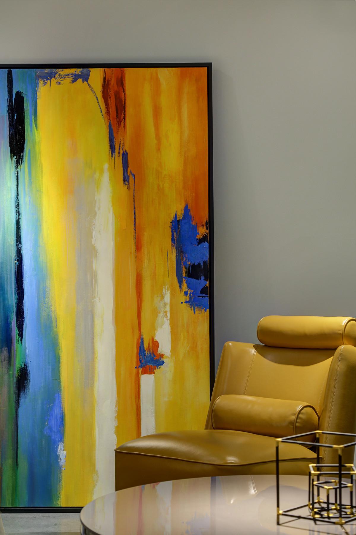 家装展厅装修单人沙发图片