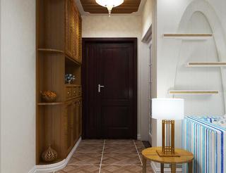 120㎡地中海风格装修玄关设计